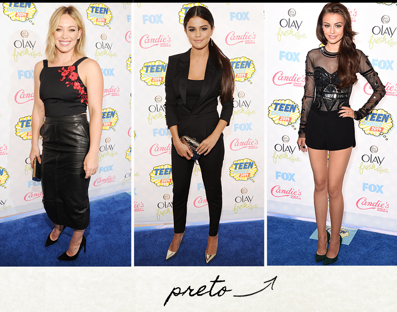 Hillary Diff, Selena Gomez e Cher Lloyd