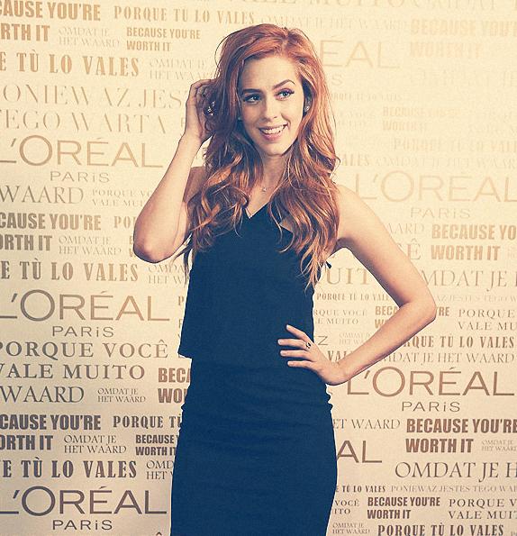 Sophia agora é #dreamteam L'Oréal Paris Brasil ❤