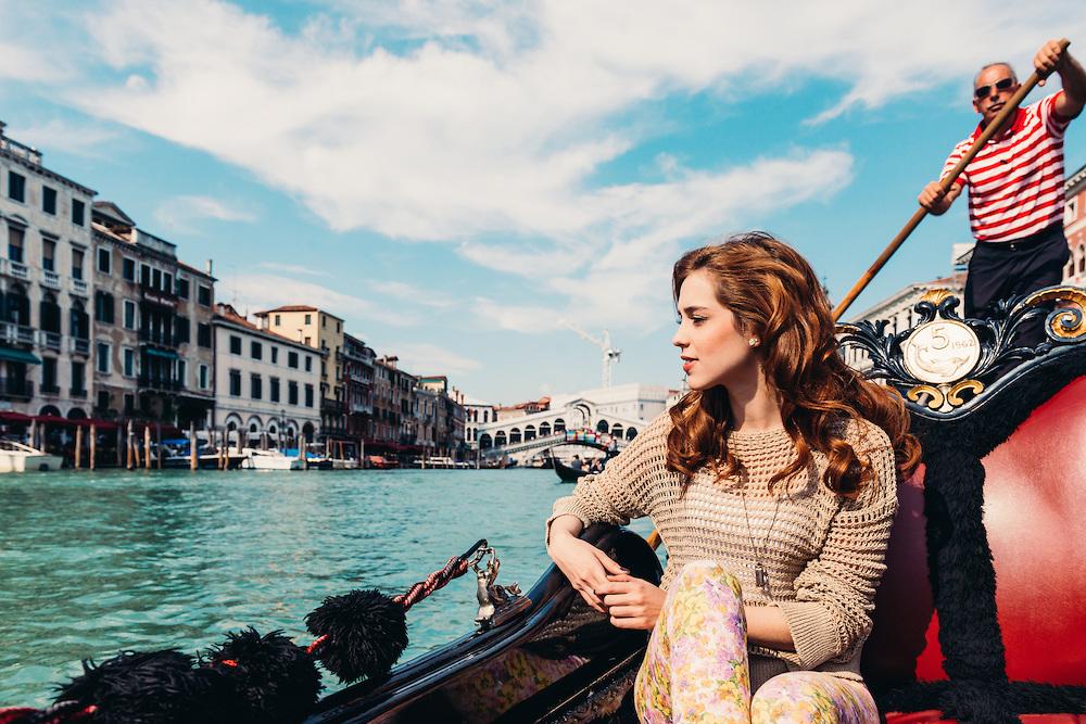 Sophia Abrahão em Veneza