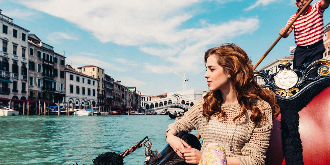 Gôndola em Veneza -  Itália