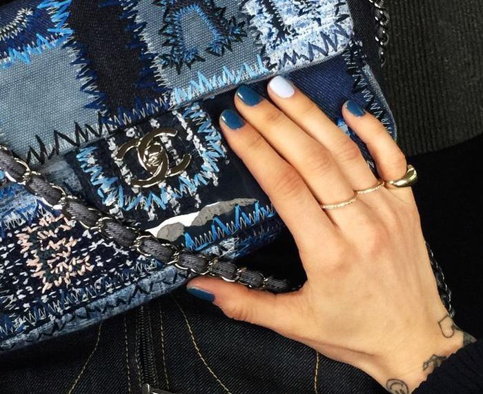 Bolsa de patchwork da Chanel