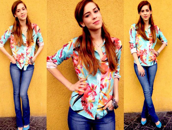sophia abrahão calça jeans